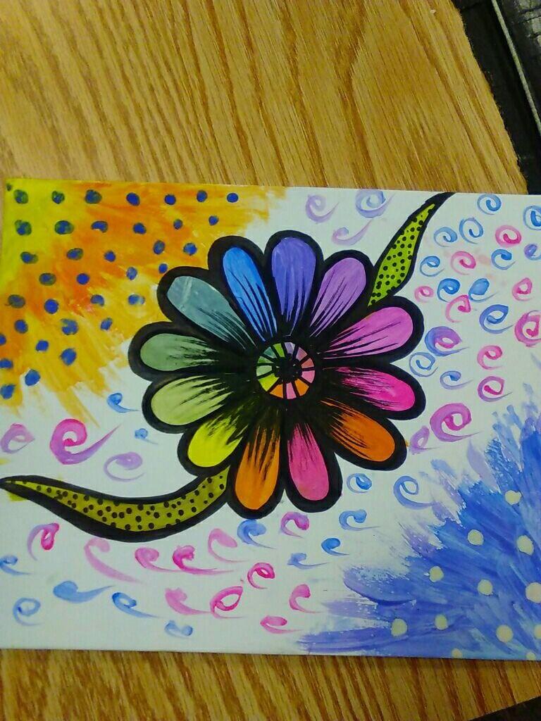 Color Wheel Flower Science Leadership Academy Beeber