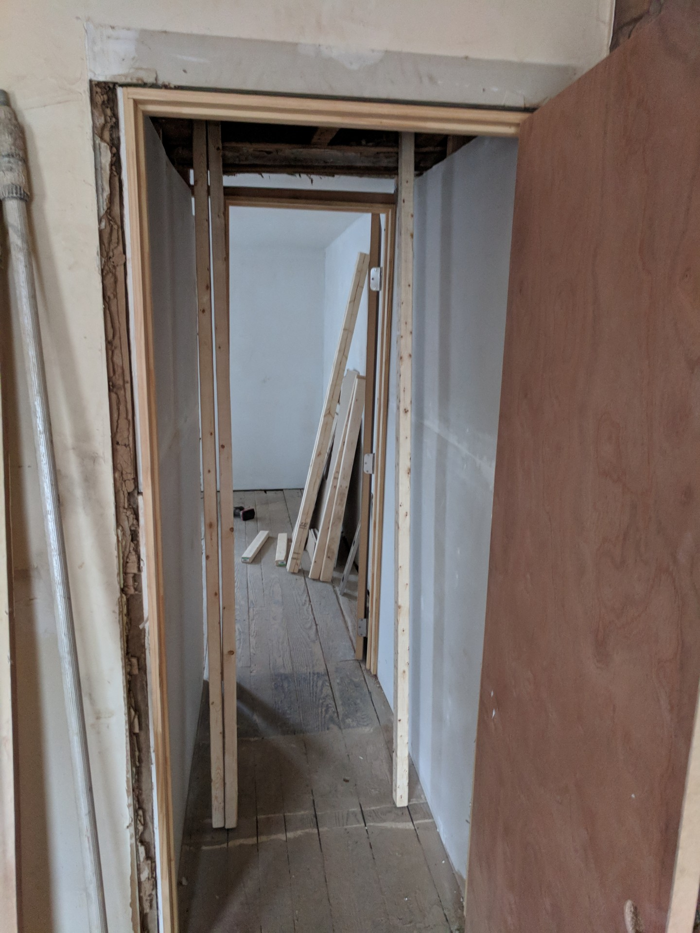#3 Unfinished Closet Framing (Both Closets)