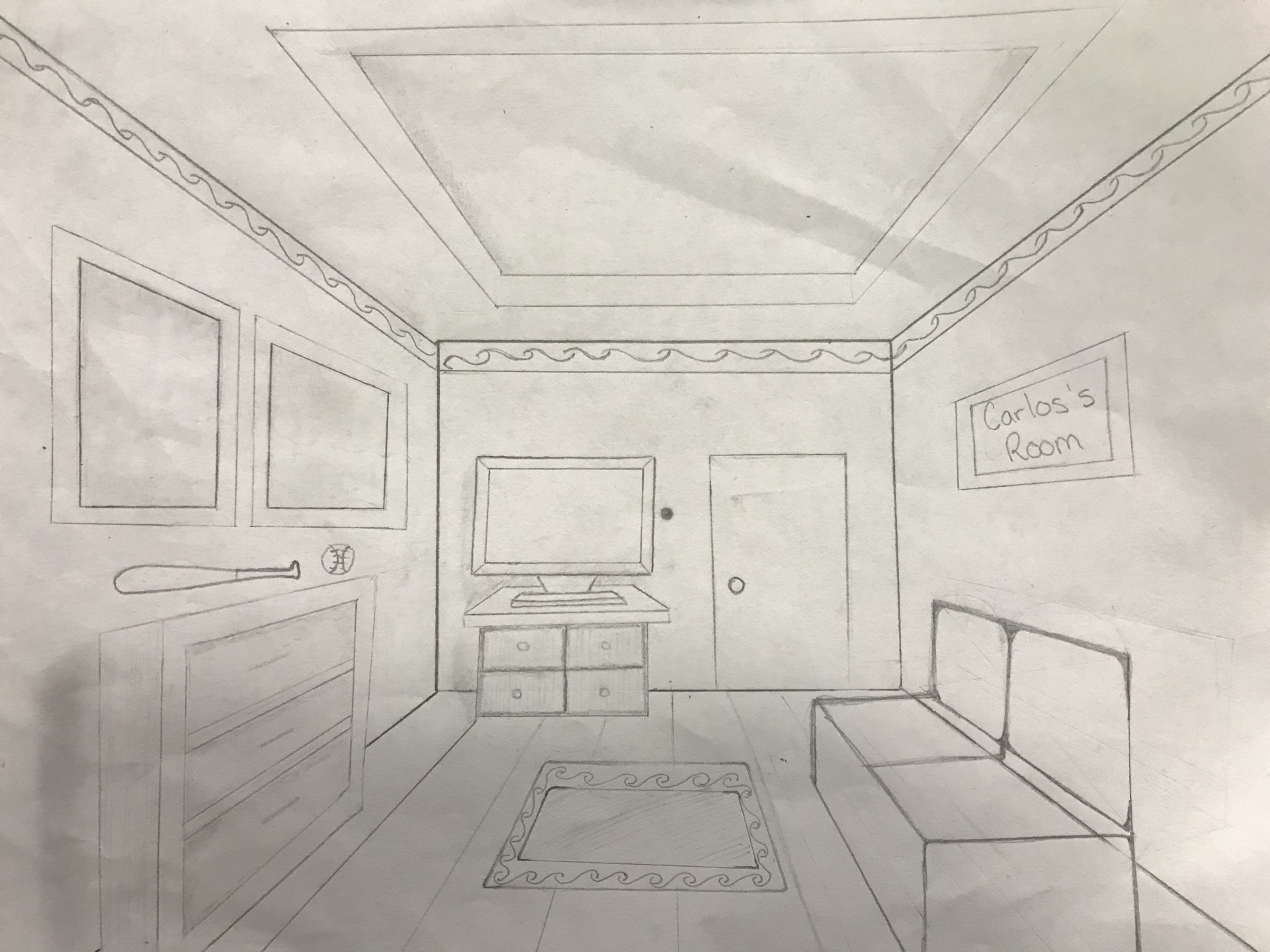 Cool One Point Perspective Room Drawing Science Leadership Download Free Architecture Designs Scobabritishbridgeorg